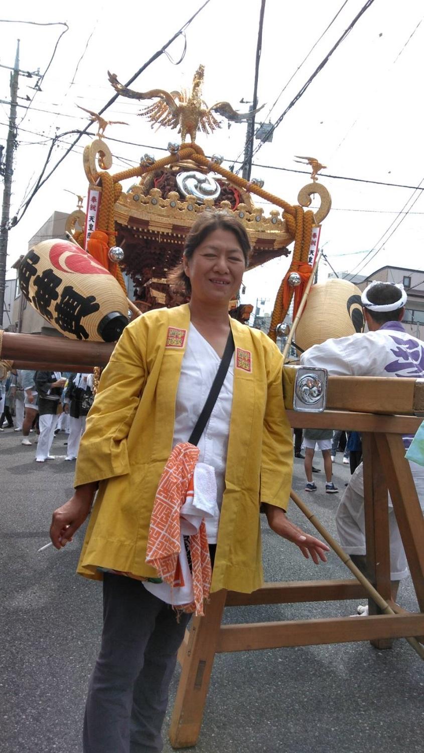 上高田本社神輿